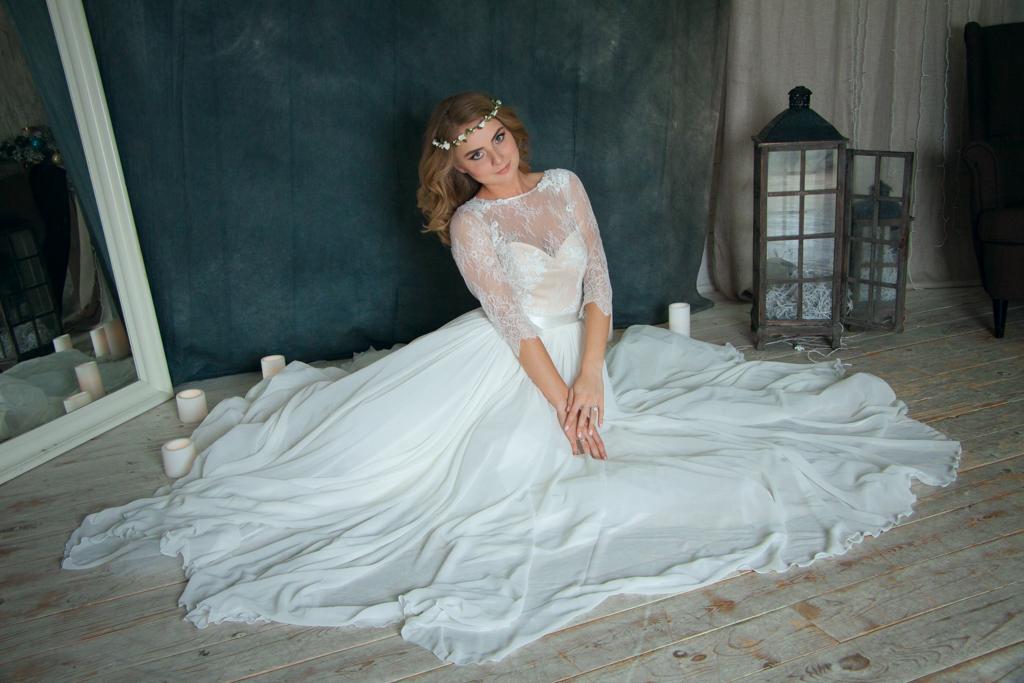 Съёмка для каталога платьев ANlace Studio