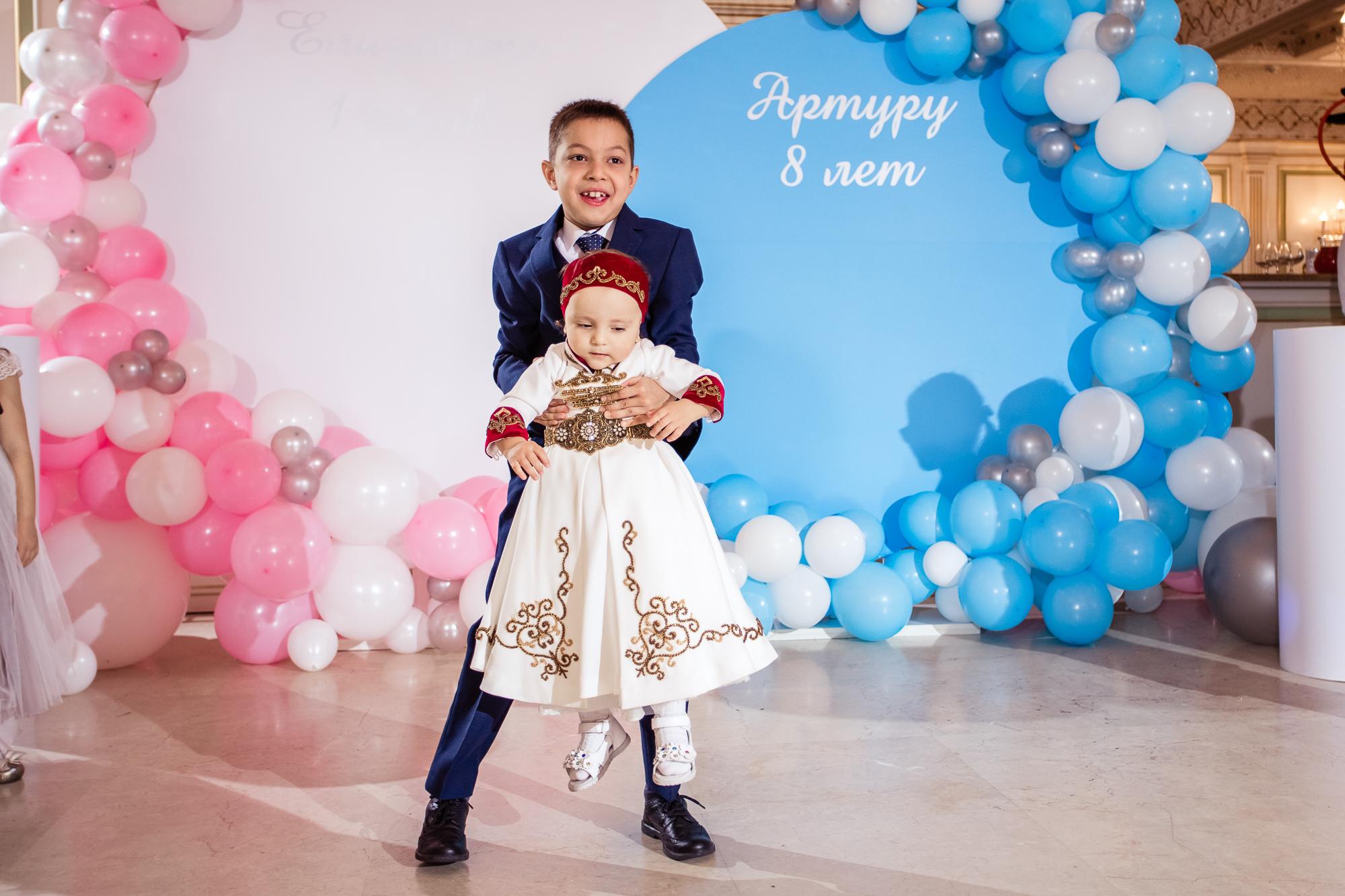 День рождения Елизаветы и Артура, г. Москва