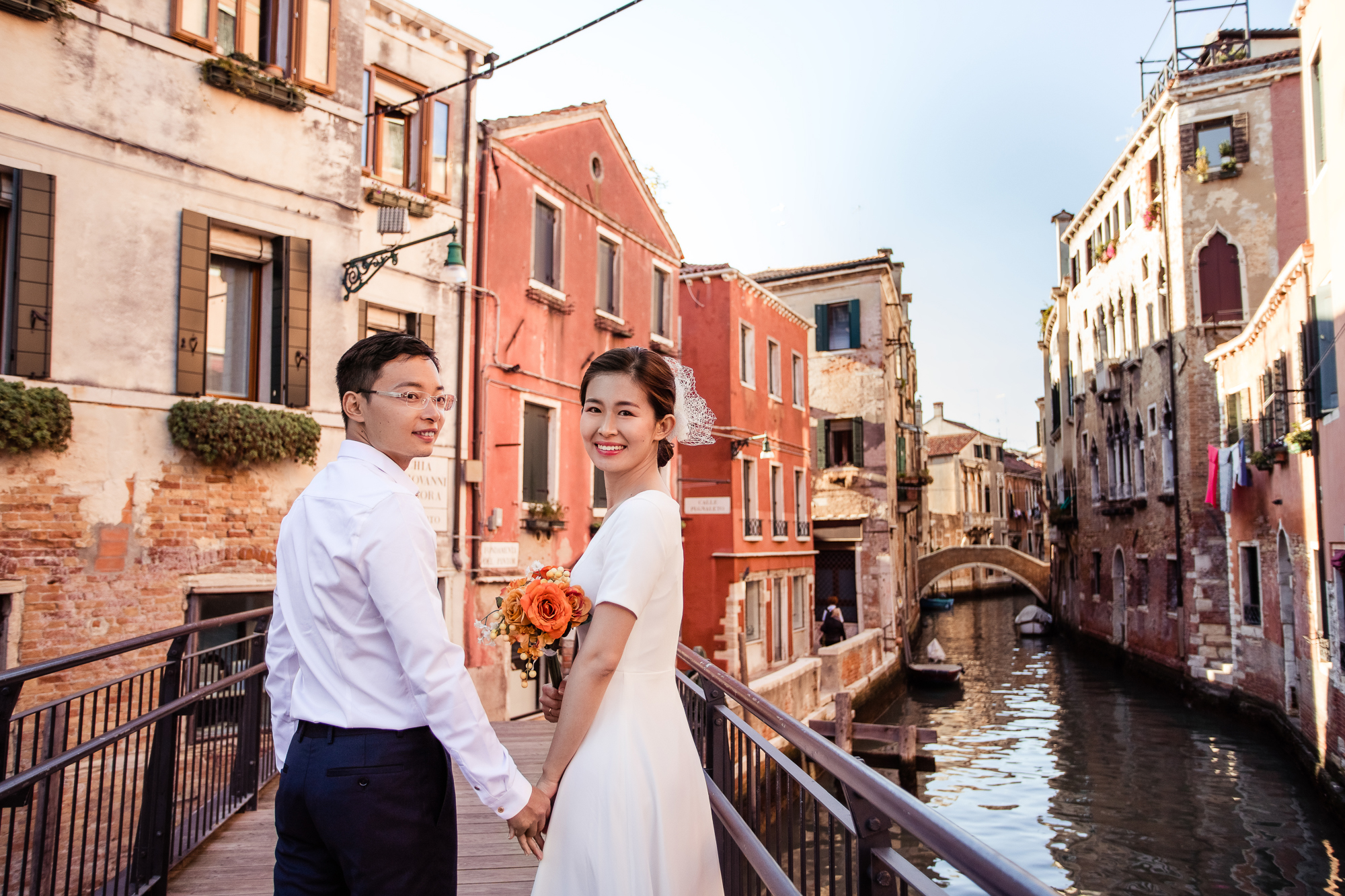 Wedding Day Mei and Qingyi in Venice, Italy