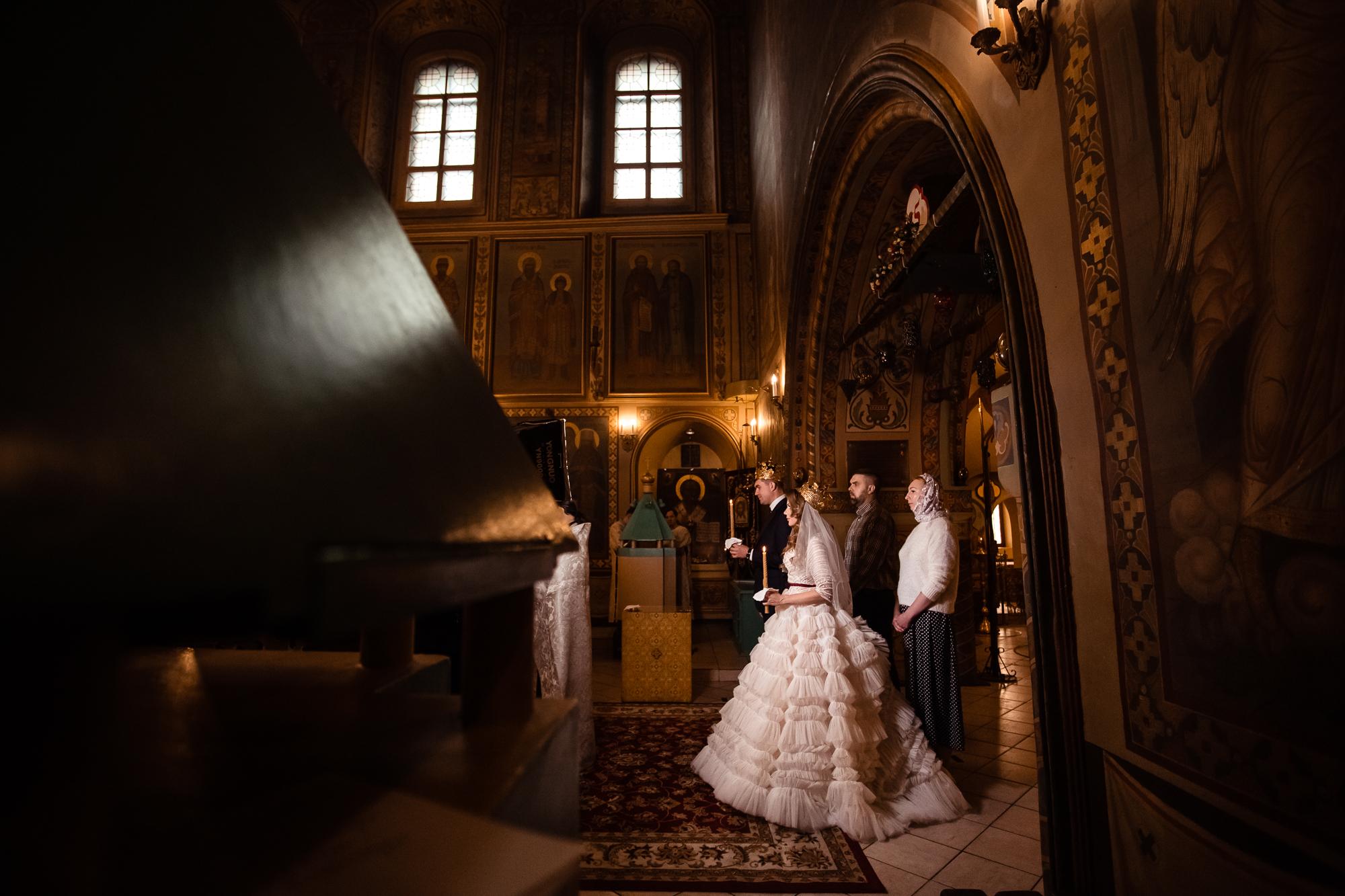 Венчание Юлии и Александра, г. Москва